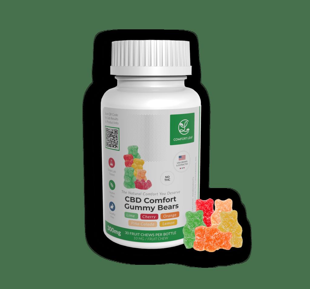 Comfort Leaf CBD Gummy Bears