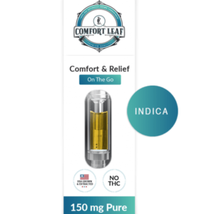 Comfort Leaf CBD + Gelato Indica Vape Cartridge Product Review