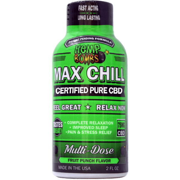 Hemp Bombs Max Chill Relaxation CBD Shot Product Review