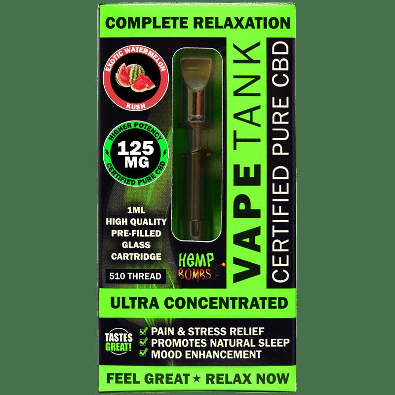 Hemp Bombs CBD Vape Oil Cartridge Product Review