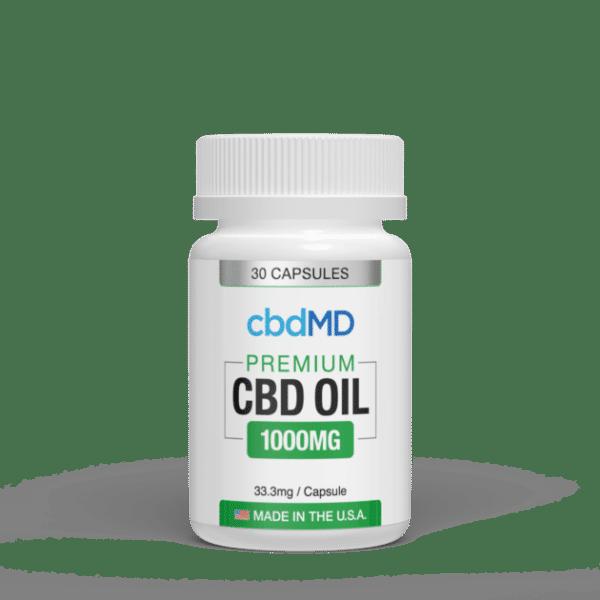 cbdMD CBD Oil Softgel Capsules Product Review