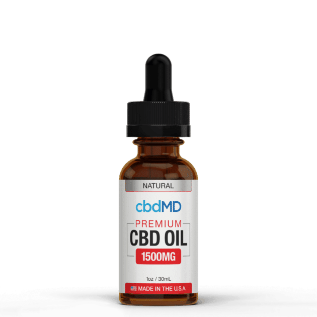 cbdMD CBD Oil Tincture Drops 1500mg Mint Flavor Product Review