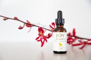 joy organics pharmaceutical grade cbd oil tincture lemon
