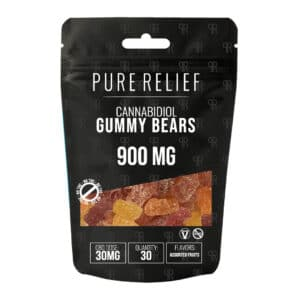 Pure Relief Cannabidiol Gummy Bears