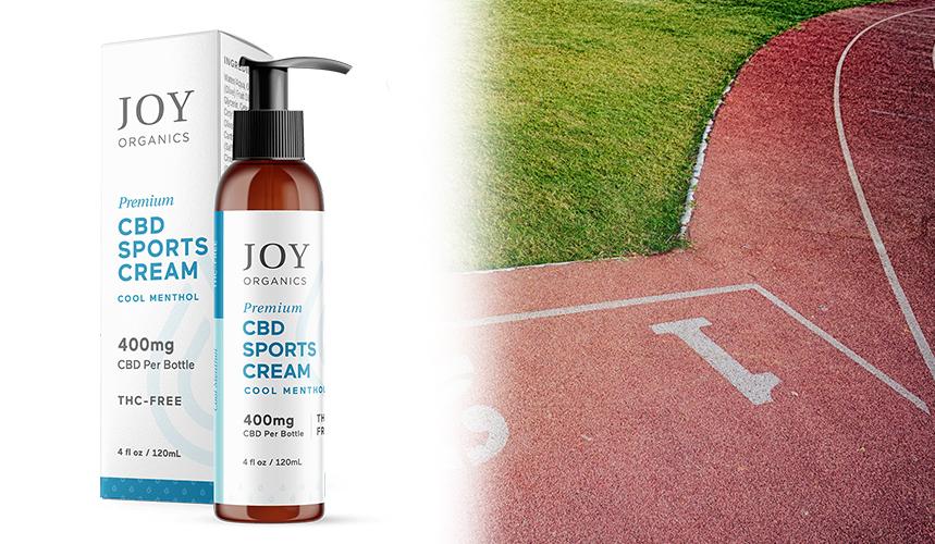 cbd for athletes joy organics cream