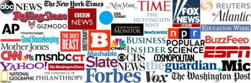 mainstream media logos