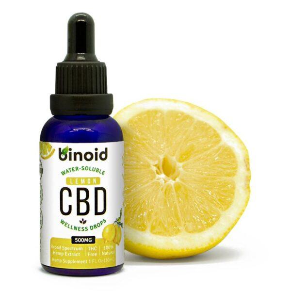 Binoid Water-Soluble CBD Wellness Drops