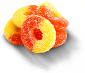 seabedee cbd peach ring gummies