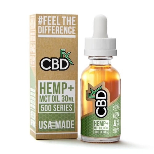 cbdfx cbd hemp mct oil 500mg 1