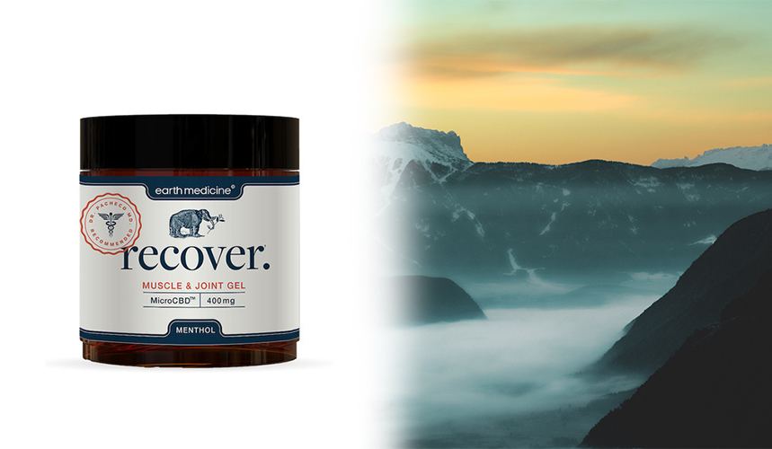 cbd for pain recover gel earth medicine