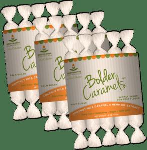 restorative botanicals coconut caramels