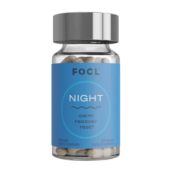 focl cbd night capsule