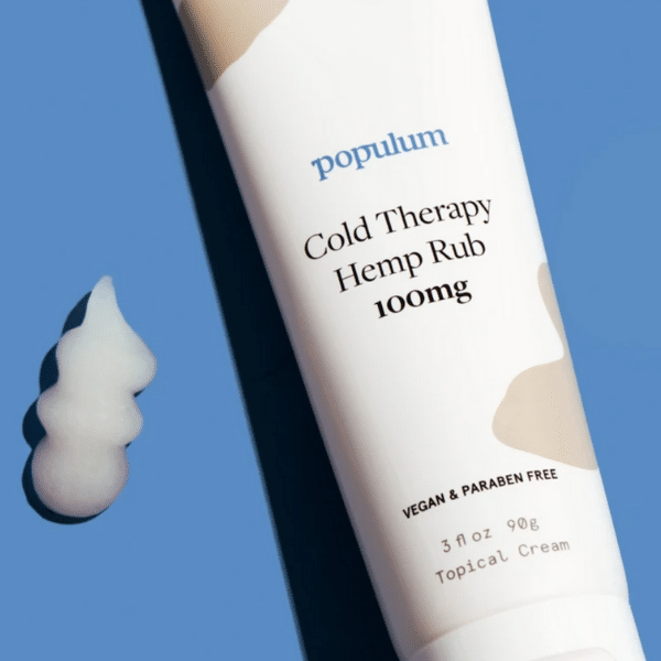 populum cold therapy hemp rub