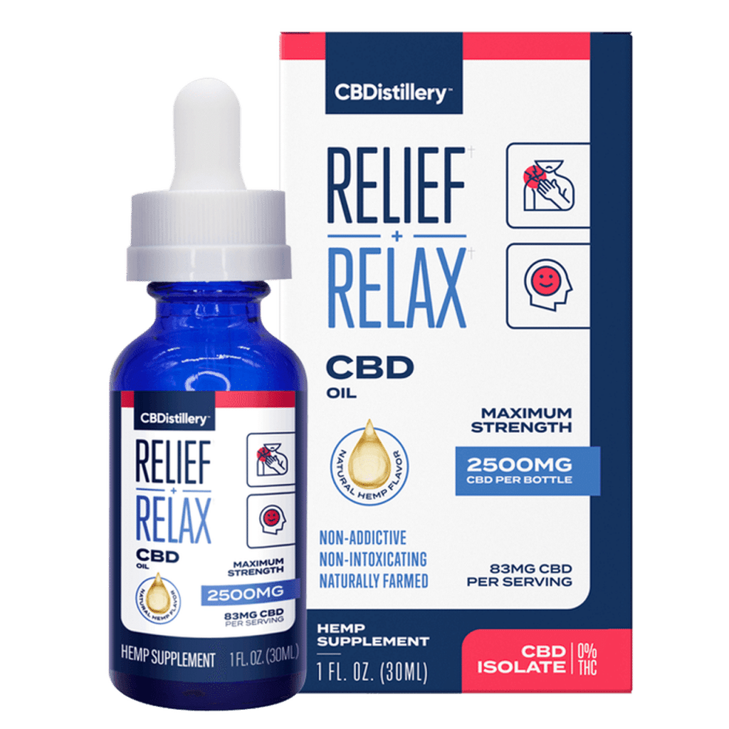 CBDistillery, Best CBD Oil for Pain Relief