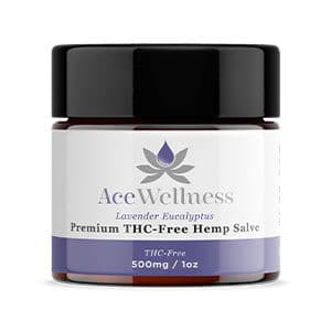 Ace Wellness cbd balm lavender eucalyptus