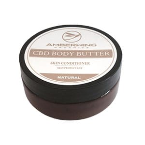Amber Wing cbd body butter