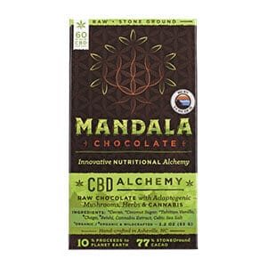 Blue Ridge cbd mushroom chocolate bar