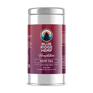 Blue Ridge hemp tea
