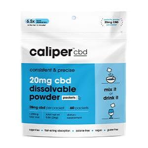 Caliper cbd dissolving powder
