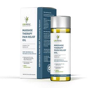 Charlottes Web cbd massage therapy oil