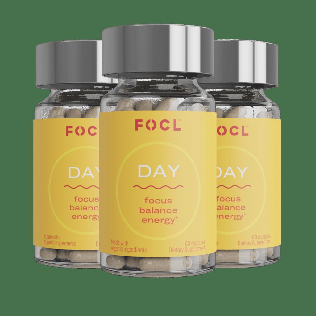 FOCL Day Pills, Best CBD For Productivity