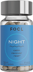 Focl cbd night capsules