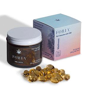 Foria cbd wellness capsules