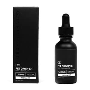 Infinite CBD cbd oil tincture for pets