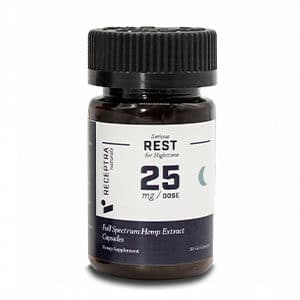 Receptra cbd gel capsules for sleep