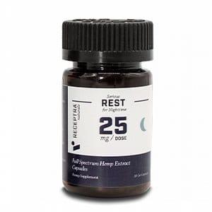 Receptra cbd gel capsules for sleep