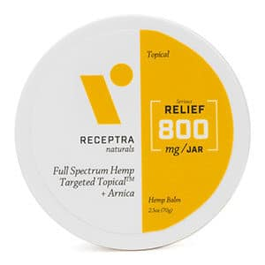 Receptracbd relief topical