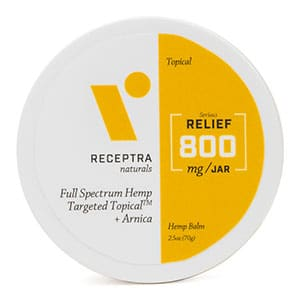 Receptracbd relief topical