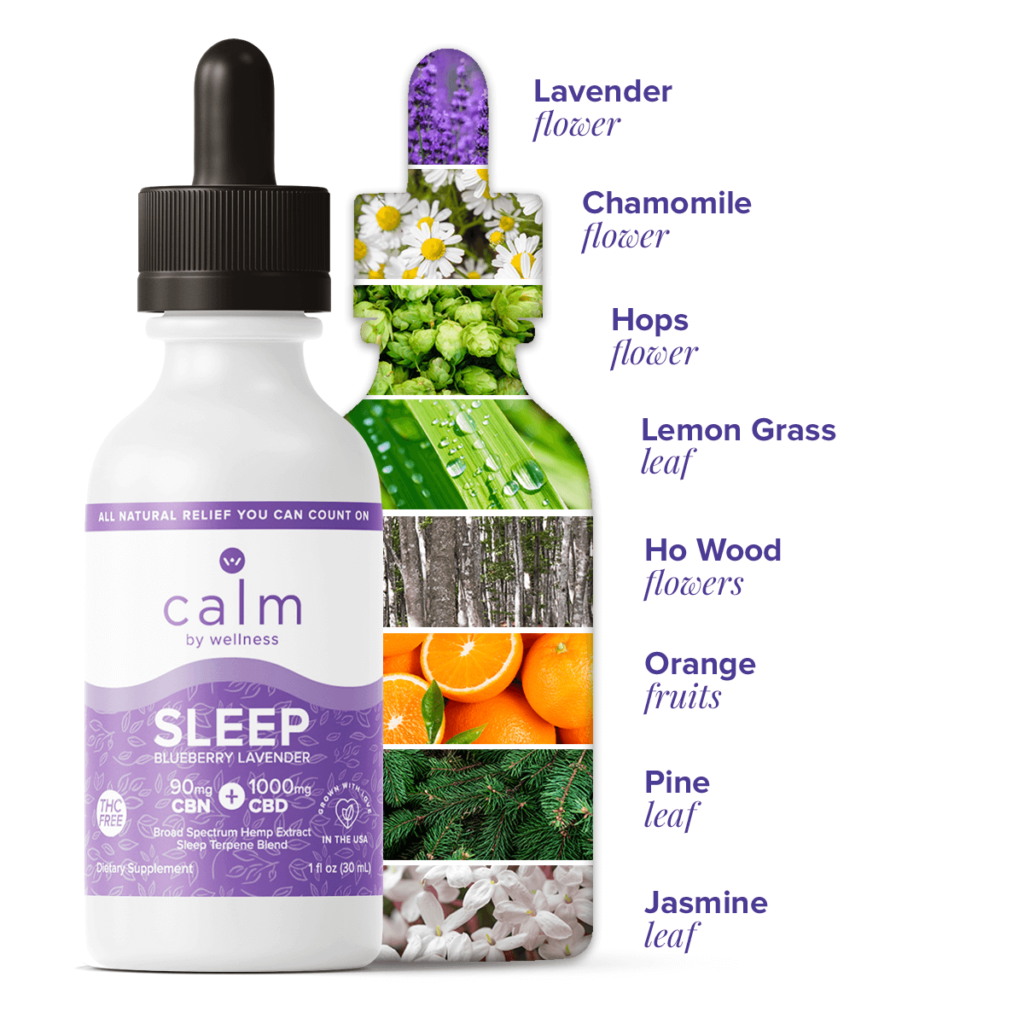 Calm By Wellness CBD Tincture