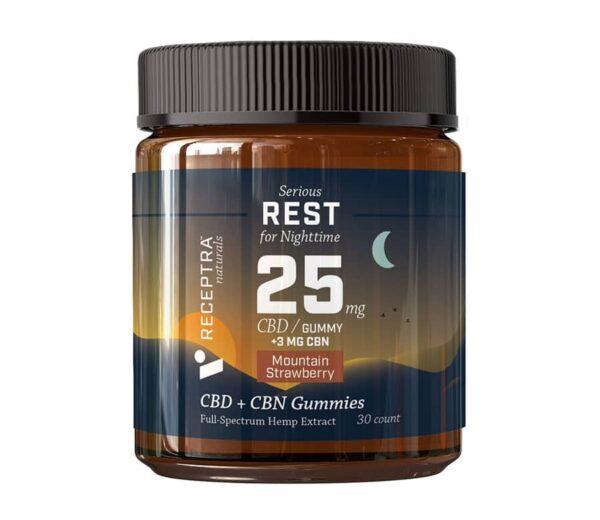 Receptra Naturals CBD + CBN Gummies
