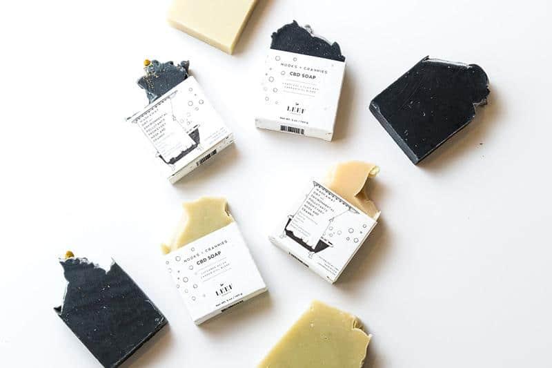 LEEF Organics CBD Soap