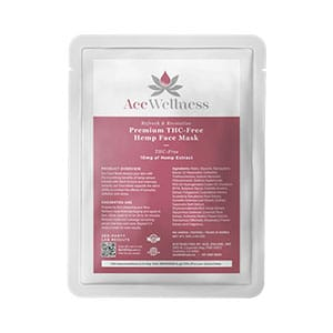 Ace Wellness cbd face mask