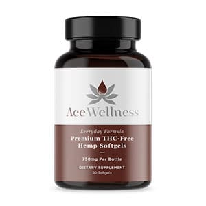 Ace Wellness cbd hemp softgels