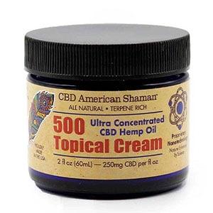 American Shaman cbd 500 topical cream