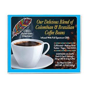 American Shaman cbd coffee