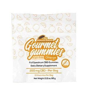 American Shaman cbd gourmet gummies sugar free