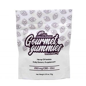 American Shaman cbd gourmet gummies