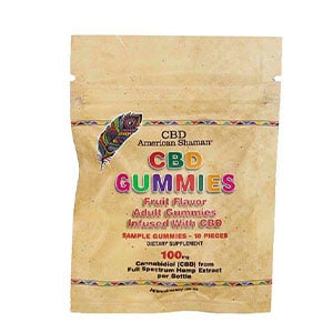 American Shaman cbd gummies sample
