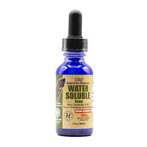 American Shaman cbd water soluable oil tincture