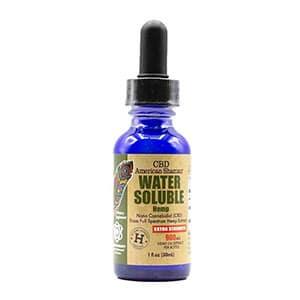 American Shaman water soluable cbd thc free