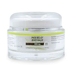 Aspen Green cbd pain relief body balm