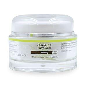 Aspen Green cbd pain relief body balm