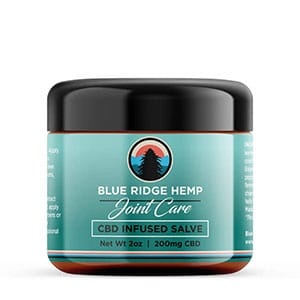 Blue Ridge cbd infused salve