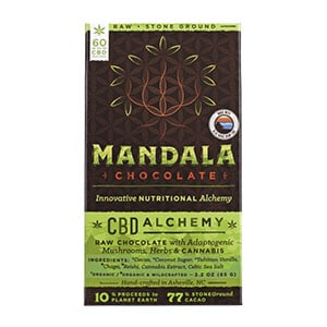 Blue Ridge cbd mushroom chocolate bar