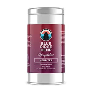 Blue Ridge hemp tea