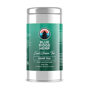 Blue Ridge hemp tea earl green